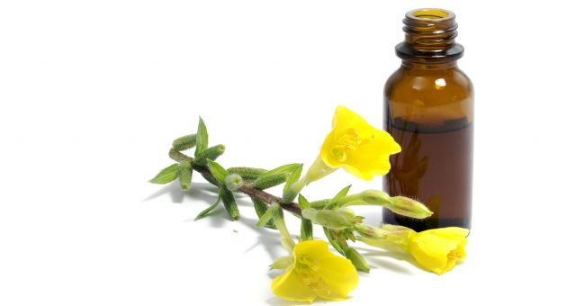 Cosmetics for hair with oil from primrose